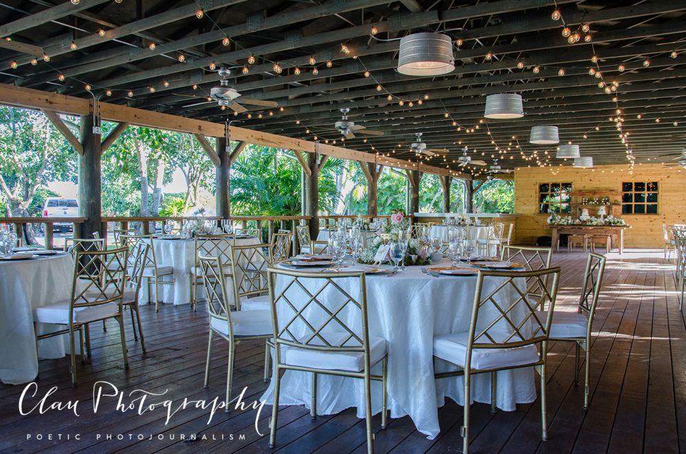 Outdoor Wedding Reception , miami wedding venue